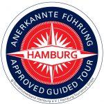 Logo Anerkannte Führung Tourismuszentrale Hamburg e.V. / Hamburg Tourismus GmbH