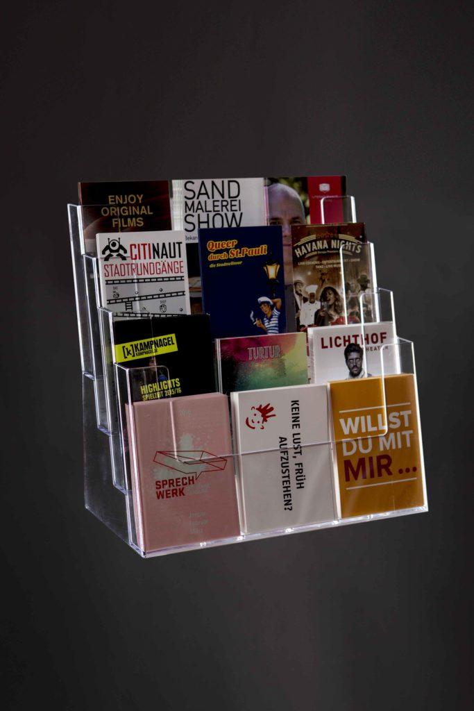 Magazine Freecards Flyer verteilen in Lübeck