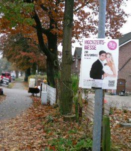 Außenplakatierung Outdoor-Plakate verteileim Hamburg Schleswig-Holstein Niedersachsen