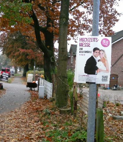 Außenplakatierung Outdoor-Plakate verteilen in Hamburg Schleswig-Holstein Niedersachsen
