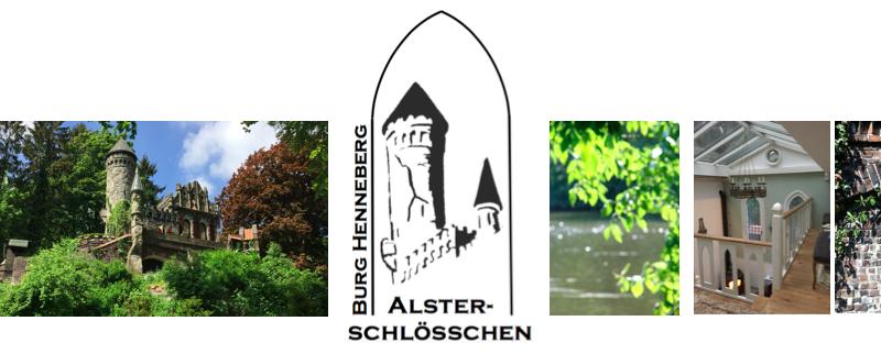 Logo Burg Henneberg Alsterschlösschen
