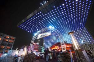 Die Kieztour führt auch zur Bühne auf dem Spielbudenplatz auf St. Pauli