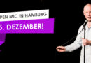 5. Dezember: I Love Stand Up – Open Mic – Frachtraum – 19:00 Uhr