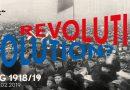 4. November: Revolution! Revolution? Hamburg 1918-1919 – Museum für Hamburgische Geschichte – 10-18 Uhr