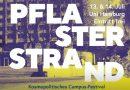 13. Juli: Pflasterstrand Campus-Festival –  Universität Hamburg –