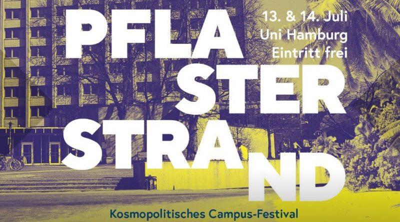 Logo Pflasterstrand Campus Festival AStA Universität Hamburg