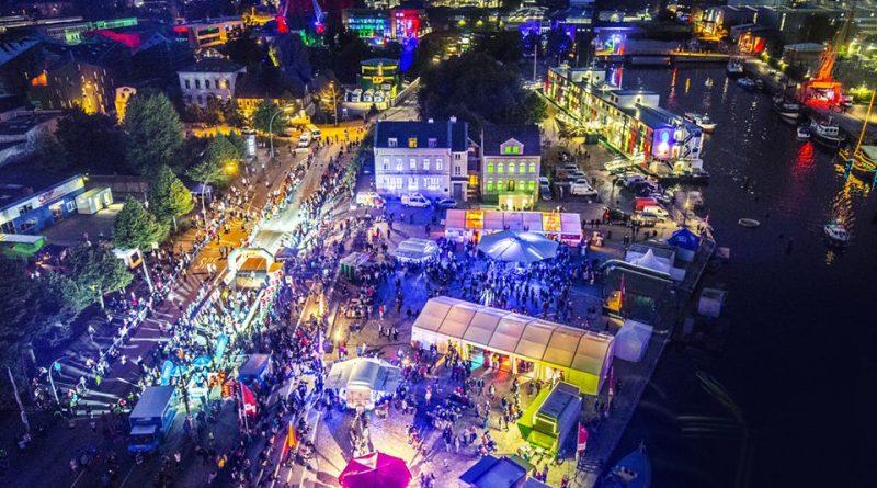 Nacht der Lichter - Hamburger Binnenhafen - Straßenfest