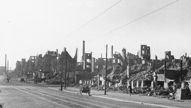 Hamburg in Ruinen 1947