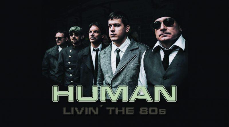 Human Logo mit Bandfoto
