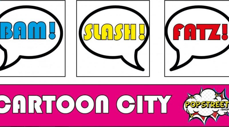 Logo Ausstellung Cartoon City